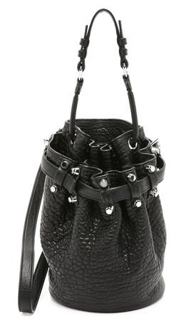 Alexander Wang Small Diego Bucket Bag - Black