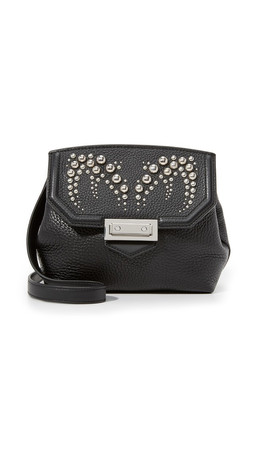 Alexander Wang Studded Marion Sling Cross Body Bag - Black