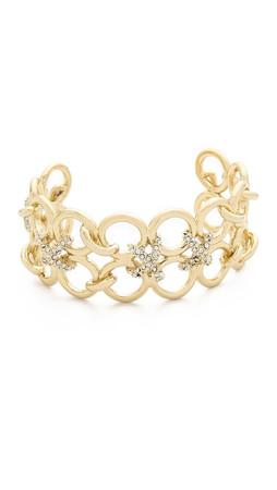 Alexis Bittar Bound Link Cuff Bracelet - Gold