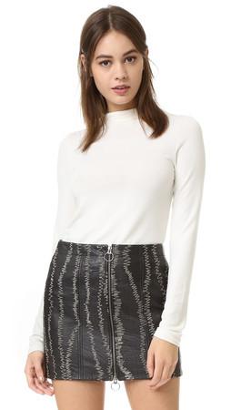Alice + Olivia Genova Fitted Sweater - Cream