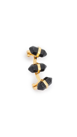 Amber Sceats Bella Ear Cuff - Gold/Black