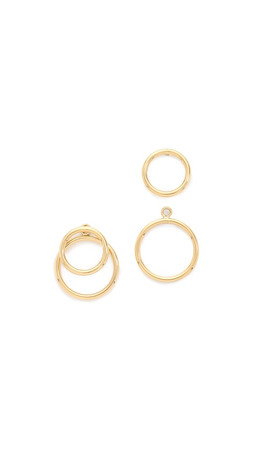 Amber Sceats Jean Earrings - Gold