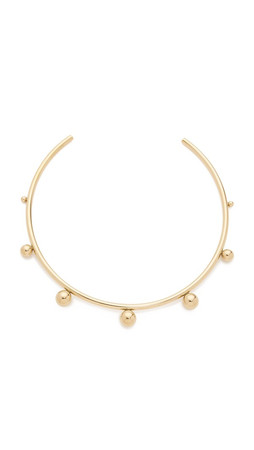 Amber Sceats Peyton Choker Necklace - Gold
