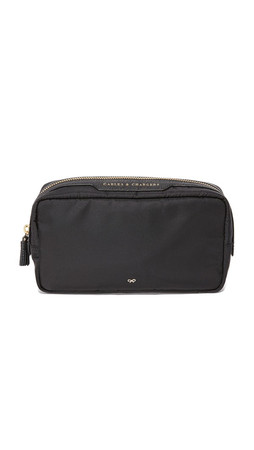 Anya Hindmarch Cables & Chargers Bag - Black