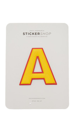 Anya Hindmarch Oversized Letter Stickers - A
