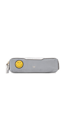 Anya Hindmarch Pens & Pencils Wink Pouch - Grey