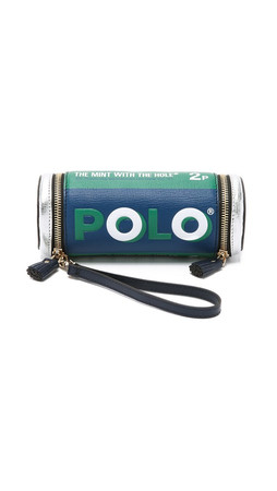 Anya Hindmarch Polo Mints Pouch - Emerald