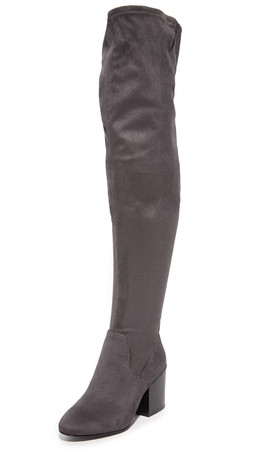 Ash Elisa Thigh High Boots - Bistro