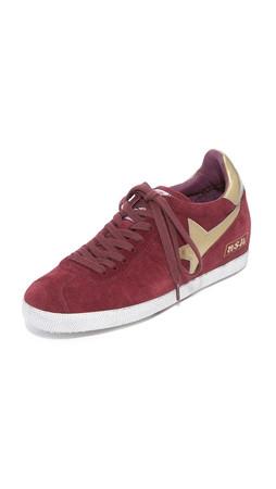 Ash Guepard Bis Sneakers - Barolo/Old Gold/Barolo