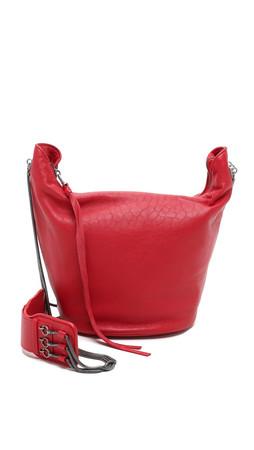 Ash Phoebe Hobo Bag - Red