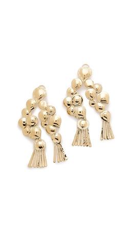 Aurelie Bidermann Drop Earrings - Gold
