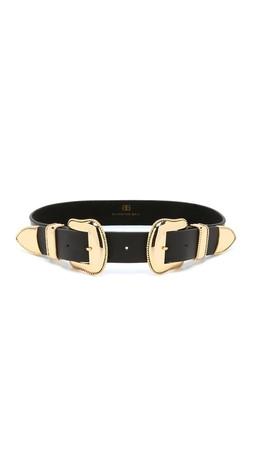 B-Low The Belt Rouge Belt - Black/Gold