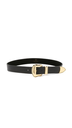 B-Low The Belt Villain Belt - Black/Gold