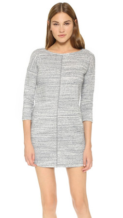 Bb Dakota Boston Day Dress - Grey