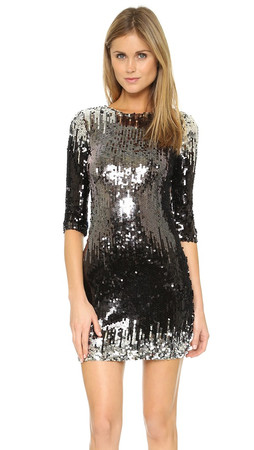 Bb Dakota Elise Sequin Dress - Multi