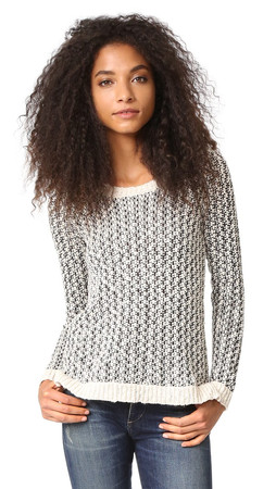 Bb Dakota Jack By Bb Dakota Parvati Sweater - Black/Off White