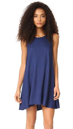 Bb Dakota Kenmore Trapeze Dress - Blue Ridge