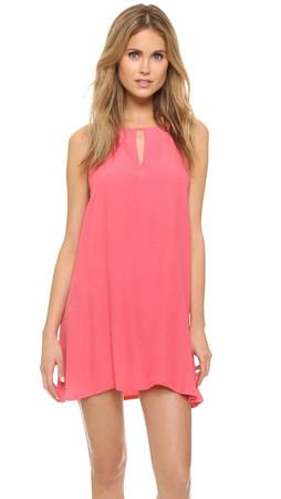Bb Dakota Rachel A Line Dress - Coral