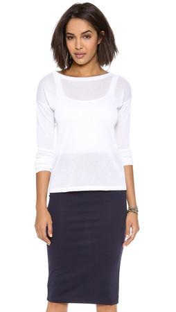 Bb Dakota Ruthie Sweater - Optic White