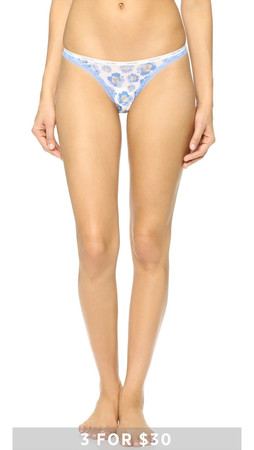 Calvin Klein Underwear Bottoms Up Thong - Momentum Floral