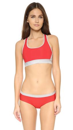Calvin Klein Underwear Flex Motion Bra - Ignite/Colorblock