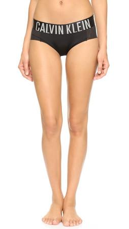 Calvin Klein Underwear Intense Power Hipster Briefs - Black