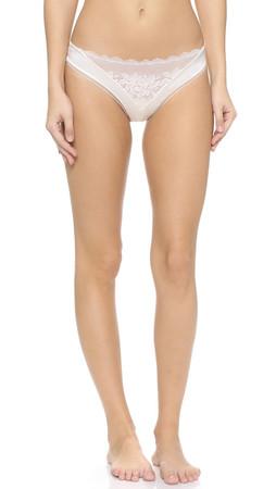 Calvin Klein Underwear Seduce Thong - Ivory