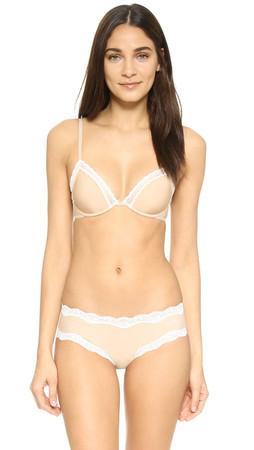 Calvin Klein Underwear Signature Unlined Underwire Bra - Bare