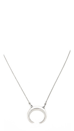 Chan Luu Tusk Necklace - Silver