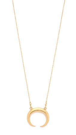 Chan Luu Tusk Necklace - Yellow Gold