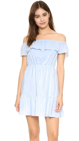 Club Monaco Adeva Dress - Soft Blue