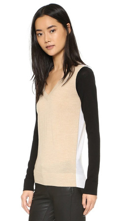 Club Monaco Agnes Wool Sweater - Multi