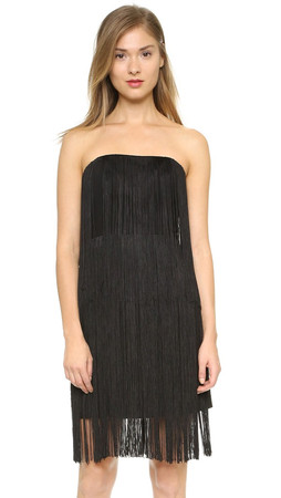 Club Monaco Bethzy Dress - Soot Black
