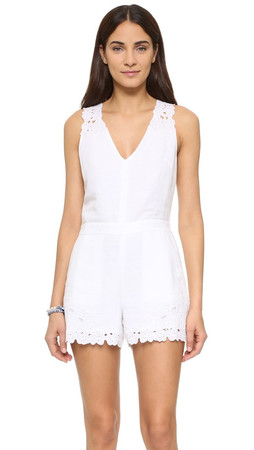 Club Monaco Bridre Romper - White
