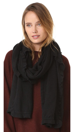 Club Monaco Ellereena Scarf - Black