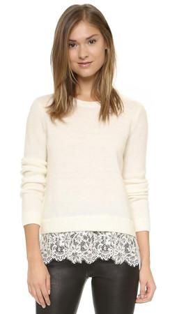 Club Monaco Jessarey Sweater - White