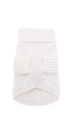 Club Monaco Lanina Dog Sweater - Cream