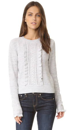 Club Monaco Lovelle Sweater - Pale Heather Grey