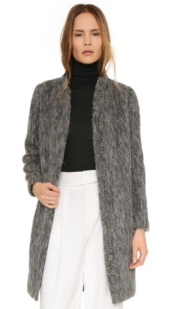 Club Monaco Maritza Coat - Grey Mix