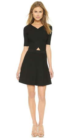 Club Monaco Parvana Sweater Dress - Black