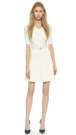 Club Monaco Parvana Sweater Dress - White