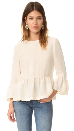 Club Monaco Phaedra Top - Muslin