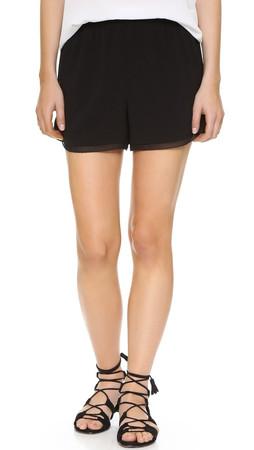 Club Monaco Ryeva Shorts - Black