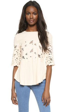 Club Monaco Sorina Top - Foundation