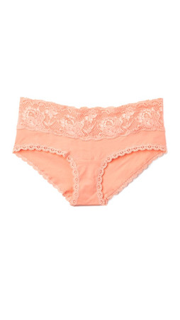 Cosabella Never Say Never Maternity Hot Pants - Rose Sand