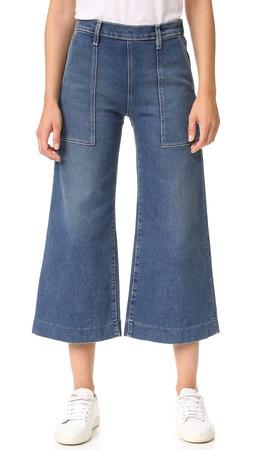 Current/Elliott The Culotte Jeans - Temper