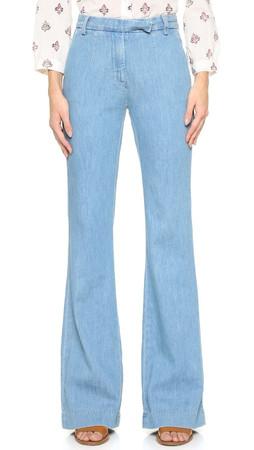 Current/Elliott The High Rise Neat Trouser Jeans - Joni