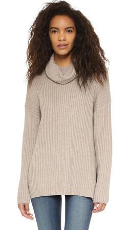 Current/Elliott The Turtleneck Sweater - Marled Porcupine