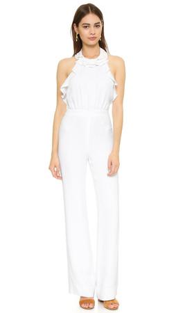 Diane Von Furstenberg Blithe Jumpsuit - White