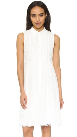 Diane Von Furstenberg Nieves Dress - White